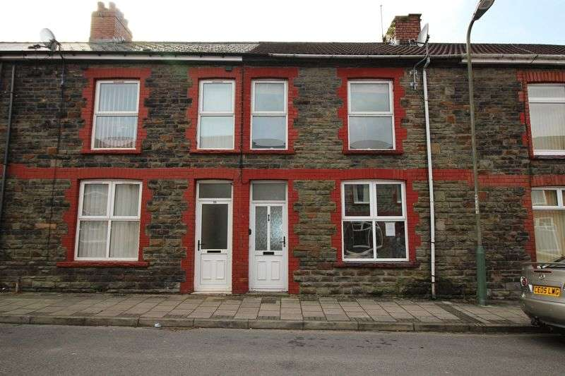 3 Bedrooms Terraced House for sale in Ilan Road, Abertridwr, Caerphilly, CF83 4DY