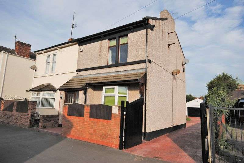 3 Bedrooms Semi Detached House for sale in Field Road, Wallasey