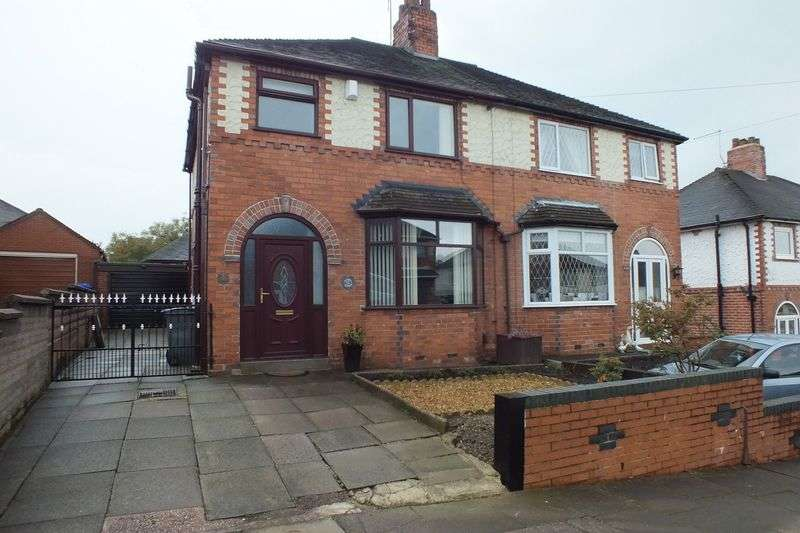 3 Bedrooms Semi Detached House for sale in Stross Avenue, Little Chell, Stoke-On-Trent