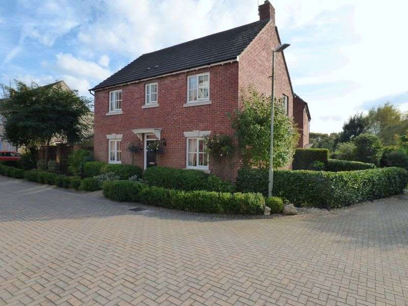 4 Bedrooms Detached House for sale in Ibis Walk, Gloucester