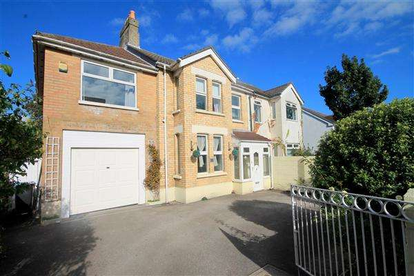 4 Bedrooms Semi Detached House for sale in Ashley Road, Parkstone, Poole