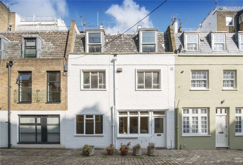 2 Bedrooms Mews House for sale in Upbrook Mews, London, W2