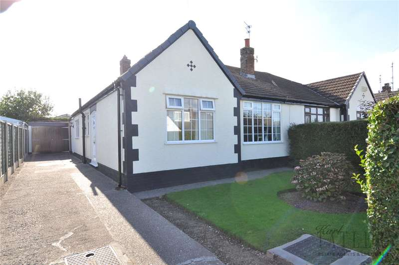 3 Bedrooms Semi Detached Bungalow for sale in Danefield Road, Greasby, Wirral