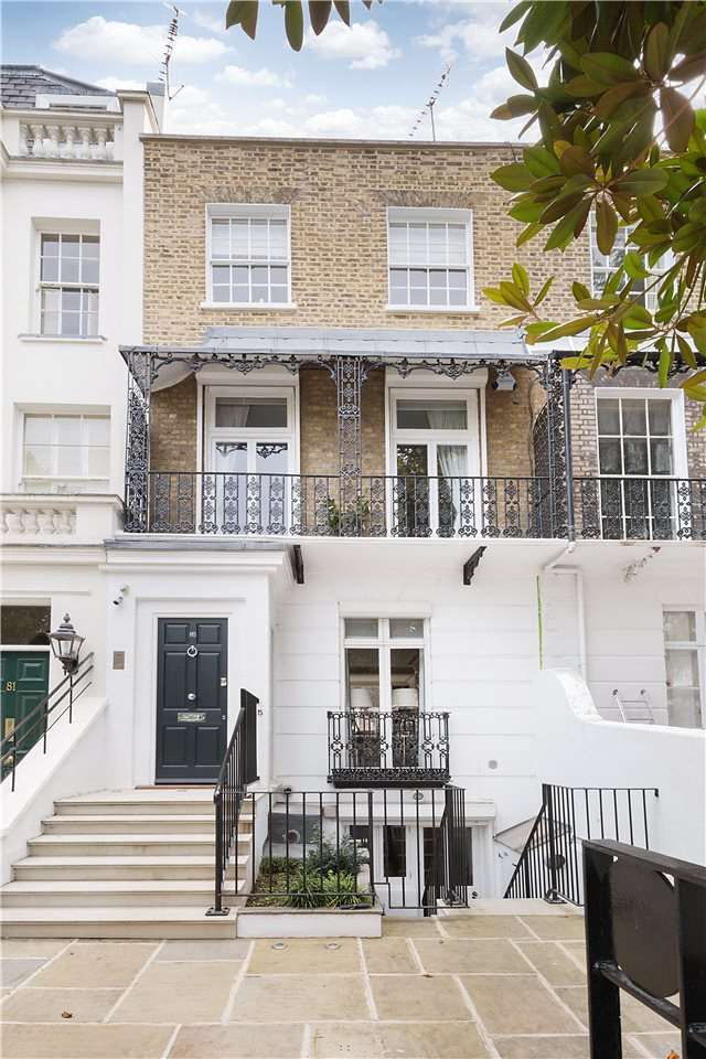 4 Bedrooms House for sale in Bedford Gardens, London, W8