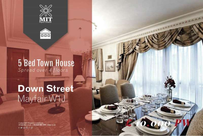 5 Bedrooms Town House for rent in Down Street, Mayfair