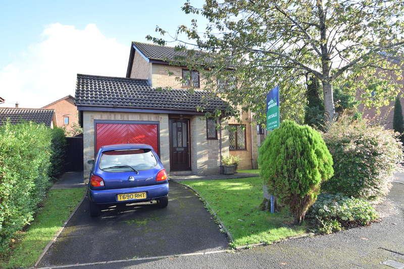 3 Bedrooms Detached House for sale in 3 Lark Rise, Brackla, Bridgend, Bridgend County Borough, CF31 2NU.