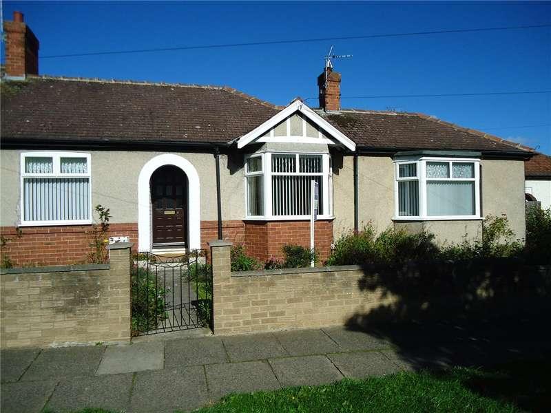 2 Bedrooms Semi Detached Bungalow for sale in Hunstanworth Road, Darlington, County Durham, DL3