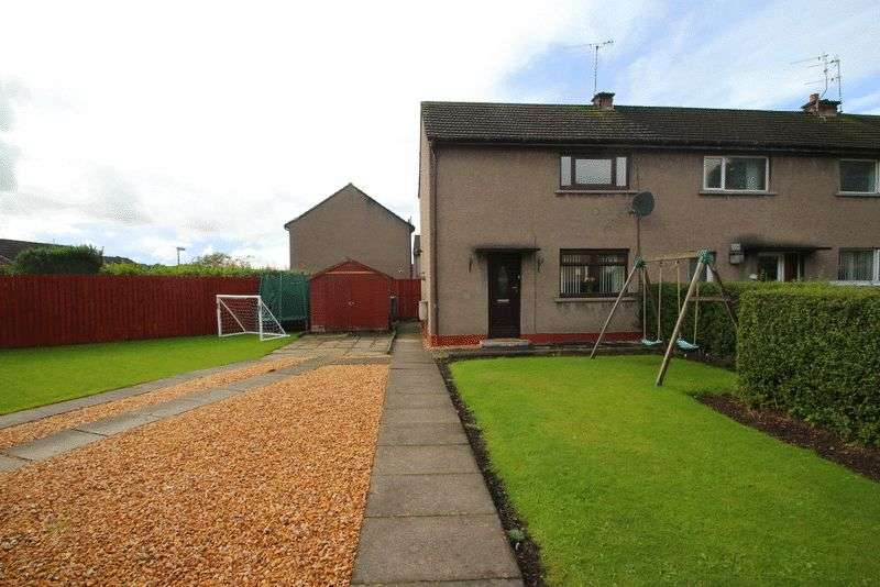 2 Bedrooms Semi Detached House for sale in Johnston Crescent, Tillicoultry