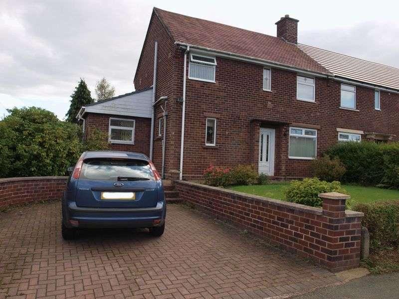 3 Bedrooms Semi Detached House for sale in Wood Lane, Weaverham, CW8 3BU