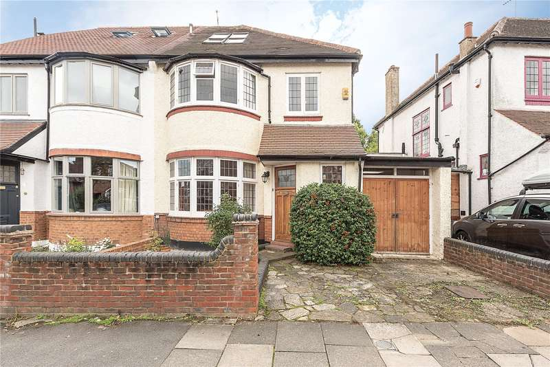 4 Bedrooms Semi Detached House for sale in Grosvenor Road, Muswell Hill, London, N10