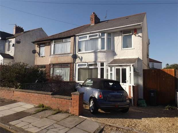 4 Bedrooms Semi Detached House for sale in Everswell Avenue, Cardiff, South Glamorgan