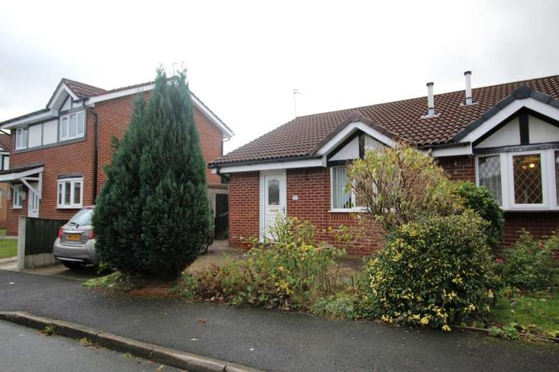 2 Bedrooms Semi Detached Bungalow for sale in Riverbank Drive, Bury, BL8
