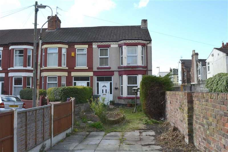 3 Bedrooms Property for sale in Salisbury Drive, New Ferry, Wirral