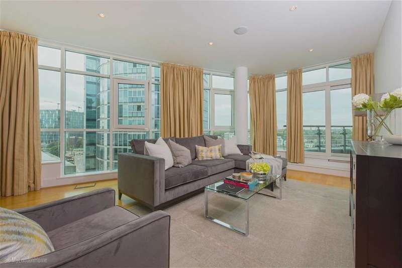 2 Bedrooms Property for sale in Kestrel House, St George Wharf, Vauxhall, London, SW8