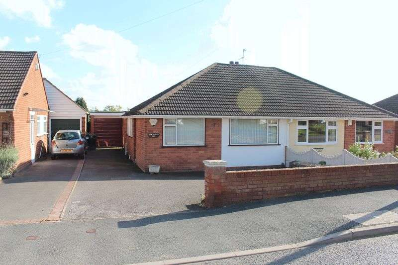 2 Bedrooms Semi Detached Bungalow for sale in KINGSWINFORD, Mount Pleasant