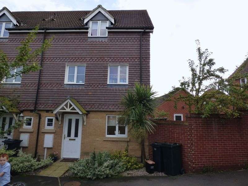 4 Bedrooms Terraced House for sale in Deyley Way, Ashford