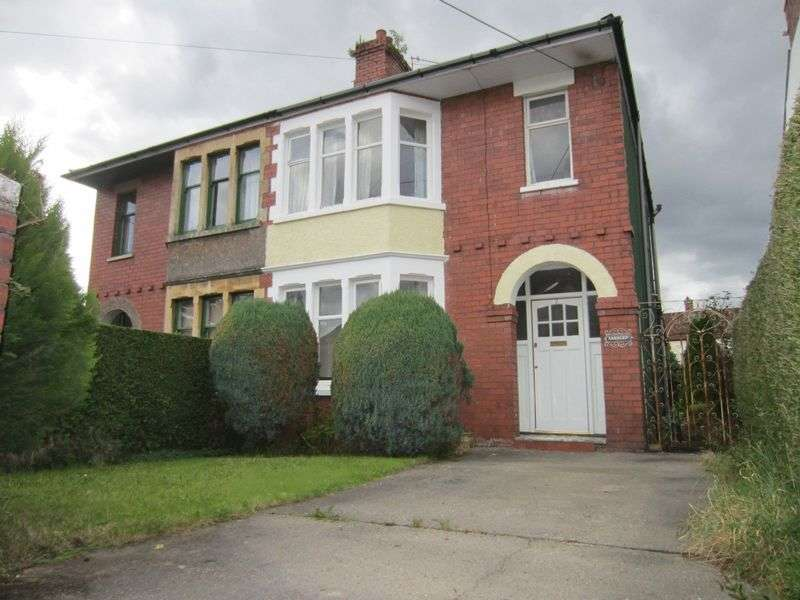 3 Bedrooms Semi Detached House for sale in Leon Avenue Taffs Well Cardiff CF15 7RG