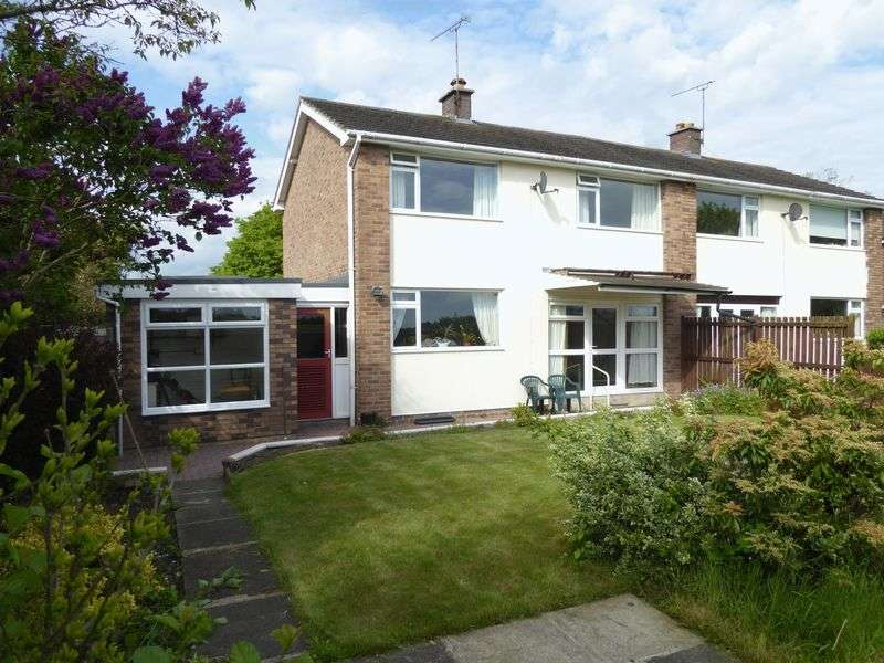 3 Bedrooms Semi Detached House for sale in Oscroft, Cheshire