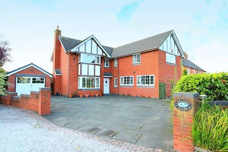 4 Bedrooms Detached House for sale in Nantwich Road, Calveley, Tarporley