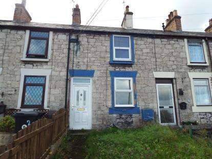2 Bedrooms Terraced House for sale in Sea View Terrace, Holywell, Flintshire, CH8