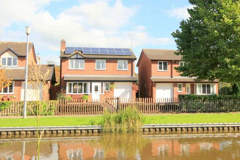 5 Bedrooms Detached House for sale in Shardlow Close, Stone