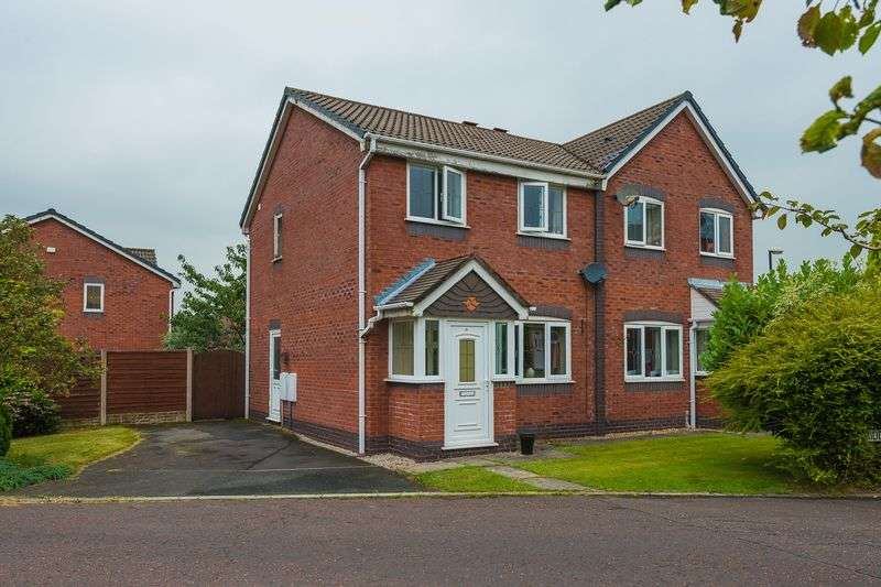 3 Bedrooms Semi Detached House for sale in Middlewood Close, Eccleston
