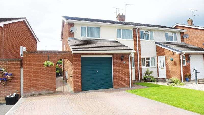 3 Bedrooms Semi Detached House for sale in Mile Barn Road, Plas Goulbourne
