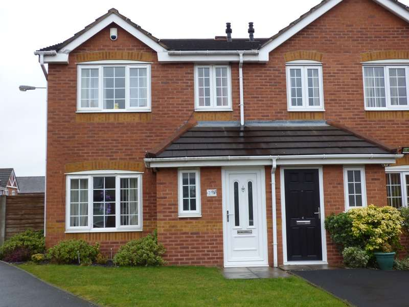 3 Bedrooms Semi Detached House for sale in Charmouth Close, Newton-Le-Willows, Merseyside, WA12
