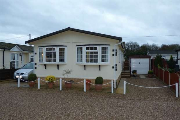 2 Bedrooms Park Home Mobile Home for sale in Castlewood Park Homes, Sapcote, Hinckley, Leicestershire