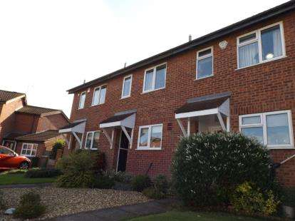 2 Bedrooms Terraced House for sale in Richardson Close, Broughton Astley, Leicester, Leicestershire