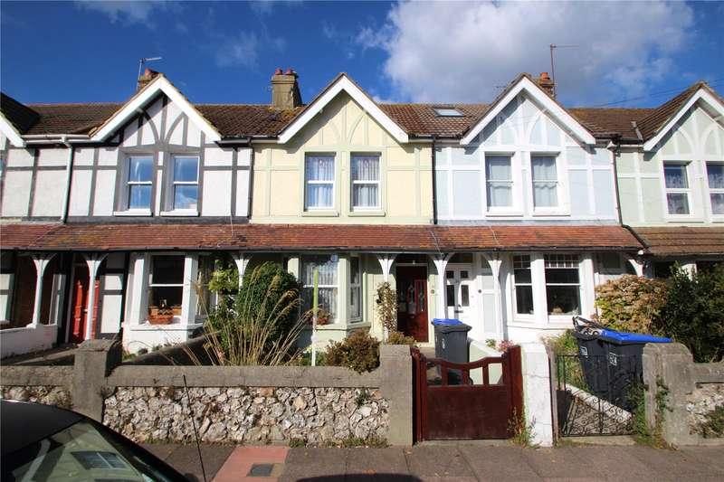 3 Bedrooms Terraced House for sale in Northcourt Road, Worthing, West Sussex, BN14