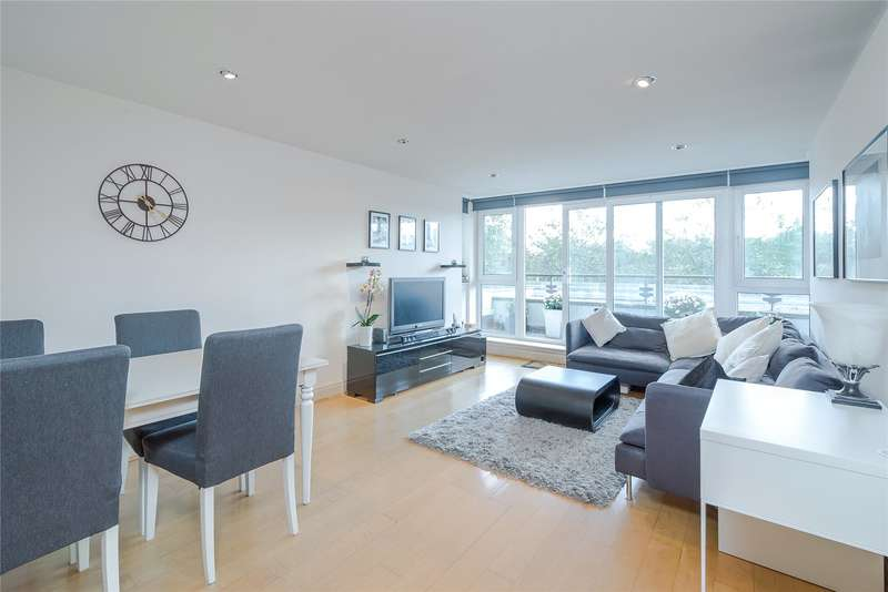 2 Bedrooms Flat for sale in Bluewater House, Smugglers Way, London, SW18