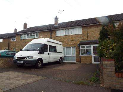 3 Bedrooms Terraced House for sale in Chells Way, Stevenage, Hertfordshire, England
