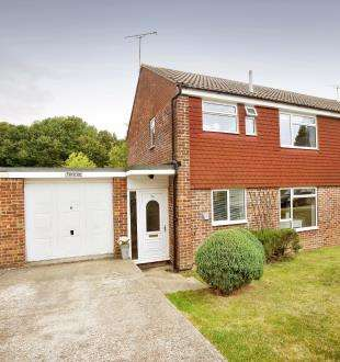 3 Bedrooms Semi Detached House for sale in Strand Meadow, Burwash, Etchingham, East Sussex