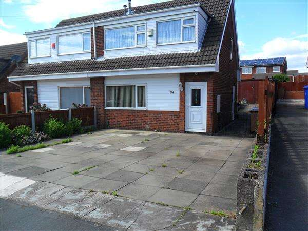 3 Bedrooms Semi Detached House for sale in Clayfield Grove West, Saxonfields, Stoke on Trent
