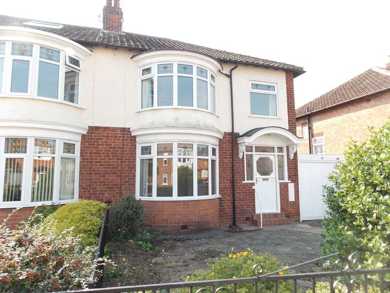 3 Bedrooms Semi Detached House for sale in Manor Road Darlington