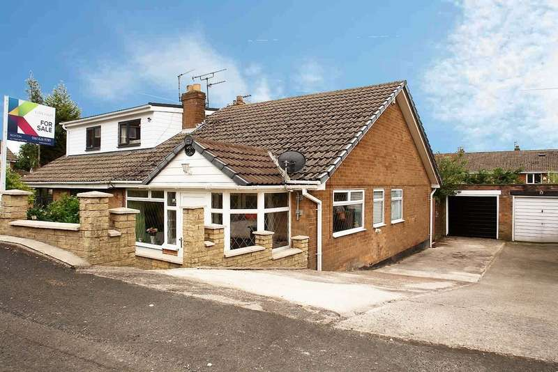 3 Bedrooms Semi Detached Bungalow for sale in 7 Malvern Close, Royton
