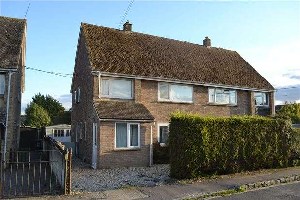 3 Bedrooms Semi Detached House for sale in Heyford Close, Standlake, WITNEY, Oxfordshire, OX29 7SZ