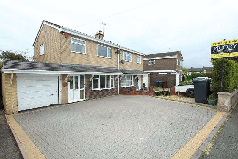 3 Bedrooms Semi Detached House for sale in Endon Drive, Biddulph