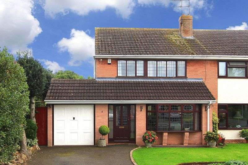 3 Bedrooms Semi Detached House for sale in PATTINGHAM, Retreat Gardens
