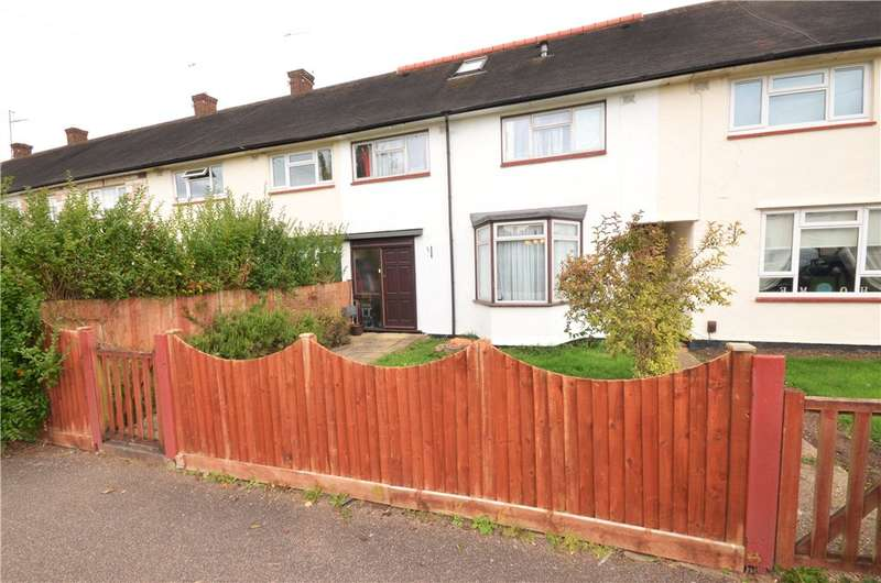 4 Bedrooms Terraced House for sale in Croxdale Road, Borehamwood, Hertfordshire, WD6