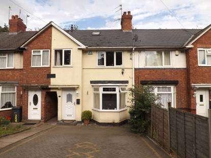 3 Bedrooms Terraced House for sale in West Boulevard, Birmingham, West Midlands