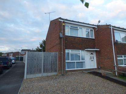 3 Bedrooms End Of Terrace House for sale in Knaves Hill, Leighton Buzzard, Bedfordshire, .