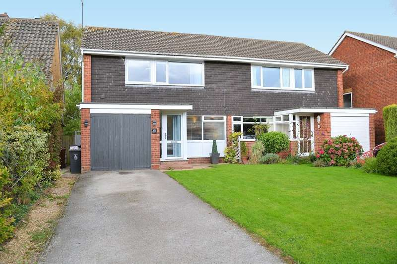 3 Bedrooms Semi Detached House for sale in Church Way, Longdon