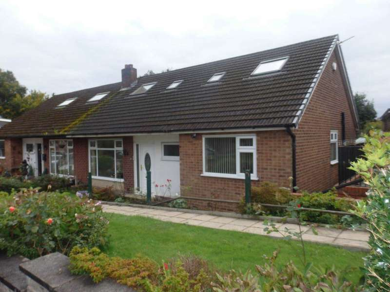 3 Bedrooms Semi Detached Bungalow for sale in Lingmell Close, Heaton