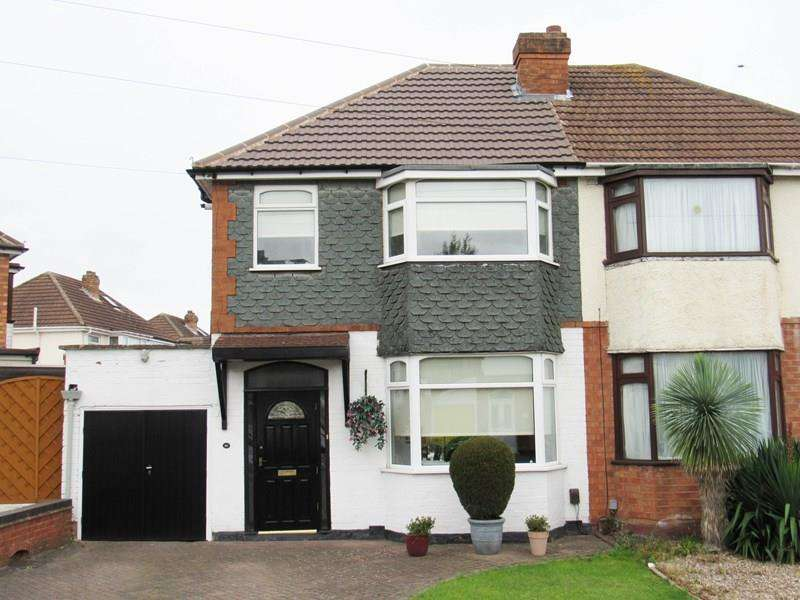 3 Bedrooms Semi Detached House for sale in Irving Road, Solihull
