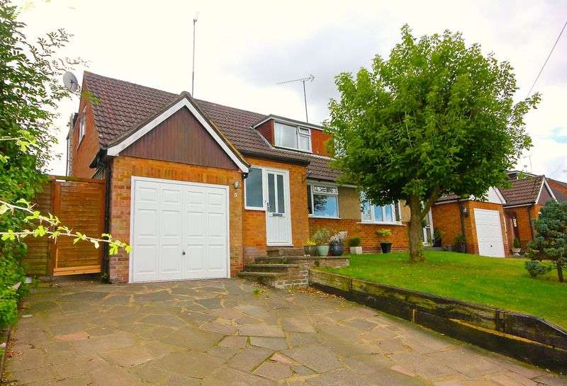 4 Bedrooms Semi Detached Bungalow for sale in The Coppins, Markyate,