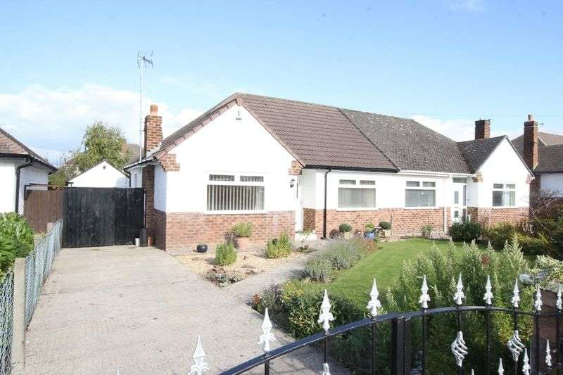 2 Bedrooms Semi Detached Bungalow for sale in Queensbury, West Kirby, Wirral