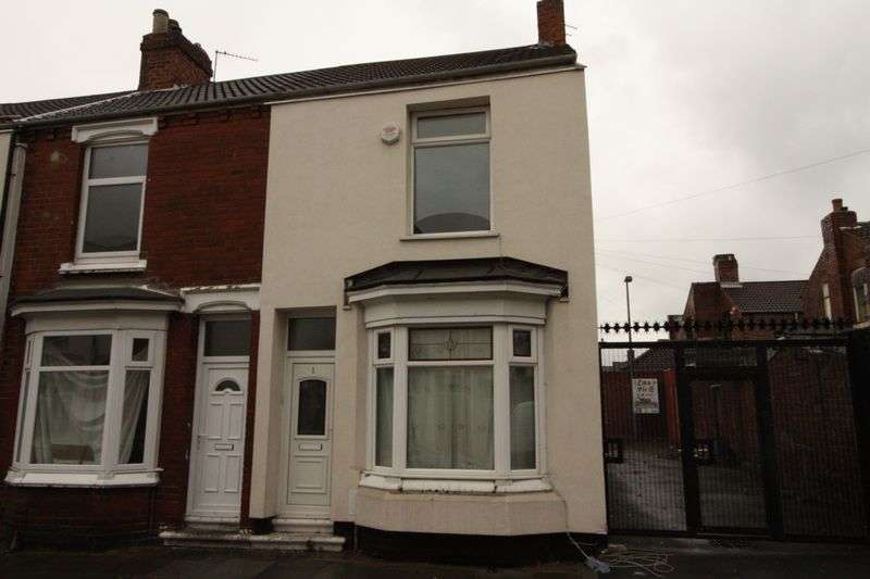 2 Bedrooms Terraced House for sale in Faraday Street, Middlesbrough