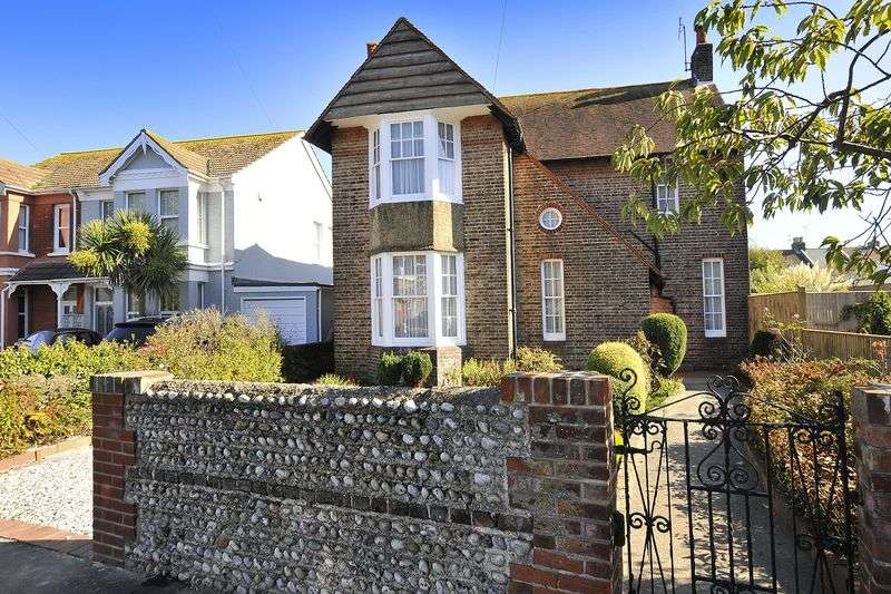 4 Bedrooms Detached House for sale in Homefield Road, Worthing
